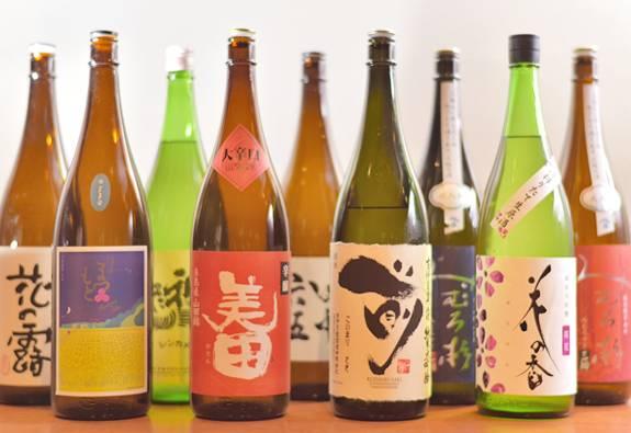 一刻堂 博多店の焼酎・日本酒メニュー